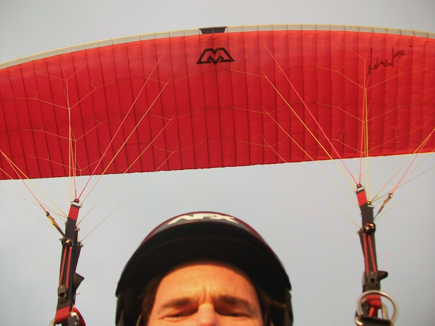 repaired paraglider ppg brian haupt
